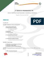 Primavera P6 Curso Basico Espanol UD