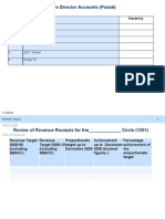 Finance & Accounts Proforma