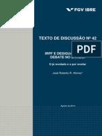 TD42 - IRPF e desigualdade em debate no Brasil.pdf