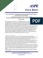 HHS insurance enrollment report
