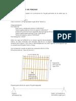 Ejemplo de Cálculo de Vigas de Madera en Forjado