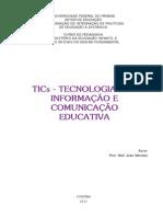 Livro Didatico_tics- Tecnologias Da Informação e Comunicação Educativa