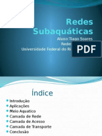 Redes Subaquaticas