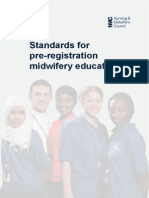 Standards for Pre_Registration Midwifery Education