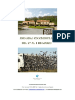 JORNADAS COLOMBOFILIA