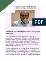 DR Ctin Dulcan- Interviu