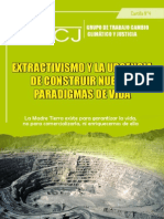 Extractivimos y la Urgencia de Contruir Nuevos Paradígmas de Vida