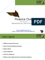Finance Club Session 2