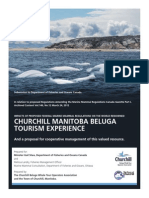 Churchill Beluga Whale Tour Operators Association and Town of Churchill submission to Department of Fisheries and Oceans
