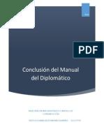 Conclusiones Manual Del Diplomatico