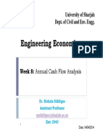 Annual Cash Flow Analysis