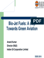 Bio-jet Fuels - A Step Towards Green Aviation