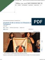 Estudante Da BA Se Destaca Na Olimpíada de Língua Portuguesa - Educação _ Portal a TARDE