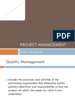 8 - PM - Quality Management