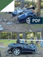Acidente Na Alemanha Com Um Audi A3 - 01261 [ E 1 ]