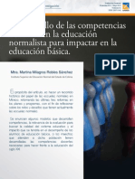 Competencias en Educación Normal