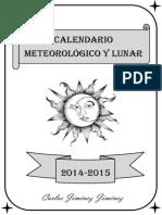 Calendario Lunar 2015.