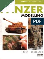 Osprey Masterclass Panzer Modelling