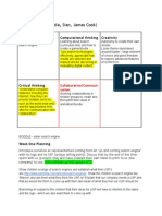 Computing planning