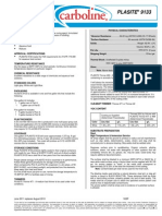 Plasite 9133 Product Data Sheet