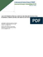 Antonio_silveira_2014_as Contribuições Da Gestão de Projetos Em Uma