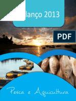 Cartilha Balanço 2013 Ministério Pesca Aquicultura