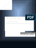 Ejemplo de Informe de Auditoría