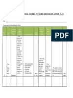 personal social curriculum action plan csl 522