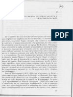 2 QUITMANN, HELMUT. Filosofia Existencialista y Fenomenologia, En Psicologia Humanistica