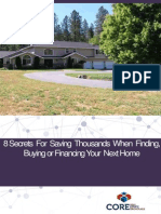 E-book 8 Secrets for Saving Thousands When Finding Buying or Financing Your Next Home
