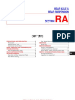 Rear Axle & Rear Suspension Section