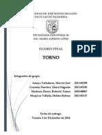 TEI III - Secc.1-2 - Grupo 01_Torno