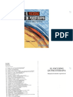 1999 - El Focusing en Psicoterapia. Manual Del Método Experiencial - Gendlin