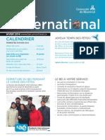 International Novembre 2013