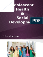 adolescent health & social development