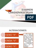 Examen Cardiovascular.