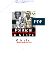 Political Killings in Kenya