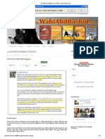 4 Langkah Bebas Hutang _ Wahi Abd Rashid