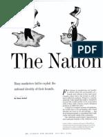 Nation as Brand - Simon Anholt