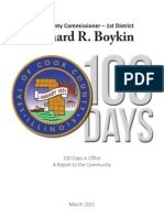 CommissionerBoykin 100 Days