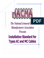 AC & MC Cable Installation