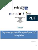 calendario cursos y talleres technologyint 2015 ver14
