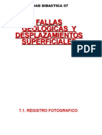 FALLAS GEOLOGICAS Y DESPAZAMIENTOS SUPERFICIALES.ppt