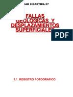 FALLAS GEOLOGICAS Y DESPAZAMIENTOS SUPERFICIALES.ppt