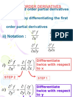 Higher Order Derivatives Week2-Degree