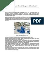 KM Series Engineering - Berat Pondasi Engine