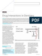 Drug Interactions in Dentist