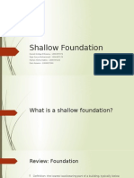 Shallow Foundation