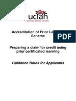 APCL Applicant Handbook