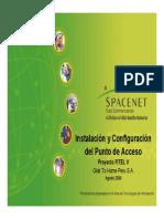 Instalacion y Configuracion Del Punto de Acceso - FITEL V